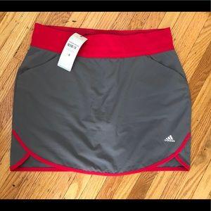 NWT Adidas Rangewear Golf/Tennis Skort, S